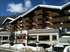 #Silvretta ParkHotel #Klosters has lots of amenities, is centrally located and is a great choice for families. #ski #Switzerland #travel #TMOM