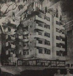 Edificio Glorieta 1938 estilo Deco Streim Line. Arq Fco J Serrano