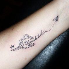 Resultat d'imatges de tatuajes sobre viajes