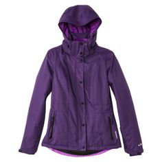 They have this in black on the site. It says this is a ski jacket but I find that hard to believe because of the cheap price and because it looks so thin. I'm not sure if this would be any warmer than the coats that I have but this is a style choice that i like,