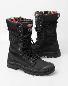 Palladium Women's Pampa Tactical Boot - I have these and love them the very best.
