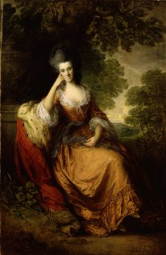 "Thomas Gainsborough ""Portrait of Lady Anne Hamilton"" 1777-80 (Detroit Institute of the Arts)"