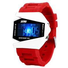 New Digital Led Pilot Watch For boys and Girls Fashion