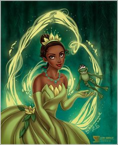 The Princess and the Frog by *daekazu