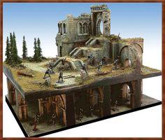 Inspiring dual level diorama.