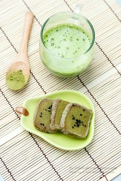 Matcha Sable ,Matcha cookies. Since we have no cookie stock at home, so i said to my self : why not?