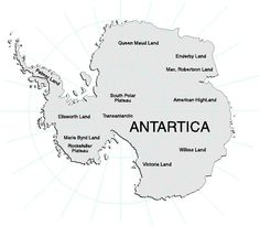 antartica map continent | SpringBoard Magazine Fun facts about seventh continent Antarctica