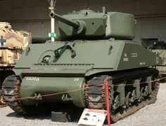 M4A3E2 Sherman, also called the Jumbo - an M4A3 with a massive frontal armor plate.