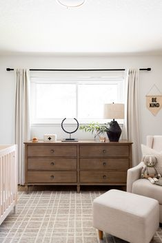 Visit here to see this nursery for a boy on Halfway Wholeistic! If you are looking for, boy nursery ideas, then this is the blog post for you. Get inspired by this nursery idea with a neutral color palette. There is nothing more chic than nursery ideas that are neutral gray and white. You will love this baby boy nursery room idea and themed color scheme. Be sure to buy neutral paint colors for a gender neutral nursery decor that is also calming for the baby. #nursery #home #decor Family Room Walls, Dining Room Walls, Office Space Design, Home Office Space, Guest Bedroom Office, Timeless Kitchen, Bedroom Wall Colors, Home Trends, White Home Decor