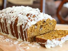 Blogger Arlene Cummings of Cooking With Sugar shares a favorite Coconut-Pumpkin recipe. Sweet and crunchy coconut can make a boring pumpkin bread extraordinary.Learn to make this recipe with our how-to  article.