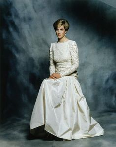Official Diana, Princess of Wales portrait by Terence Donovan 1987