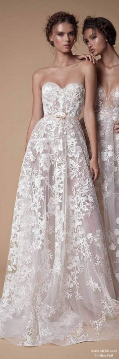Berta MUSE Wedding Dress Collection2018 – Page 2 – Hi Miss Puff/ Follow me @ Melissa Riley- for more modern wedding dress collections, wedding cakes, modern eye makeup ideas, unique wedding photo ideas, reception decor, wedding bouquets and more. transcendentwoman