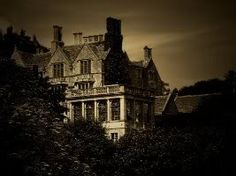 Creepy Old Mansion Is