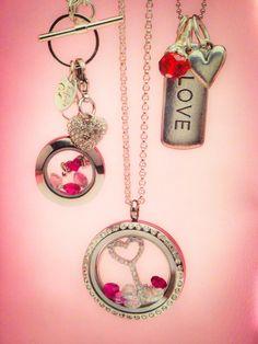 New valentine looks!!  Origami Owl, Custom Jewelry. www.melissadettmer.origamiowl.com