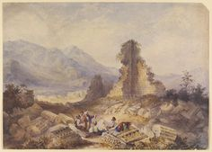 Ephesus (Ruins of the Temple of Diana) 1828-1840