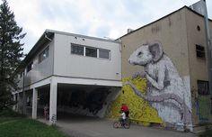Nuevo mural de Ericailcane en Eslovaquia
