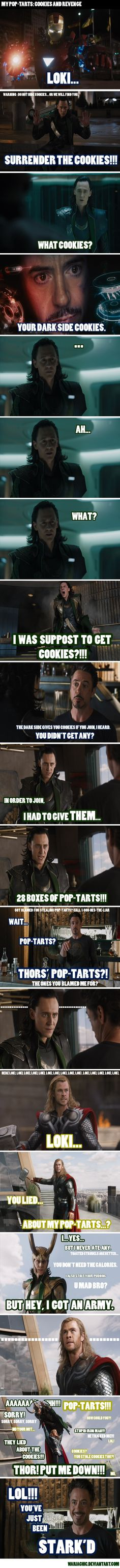 Stark'd hahaha. literally dying of laughter right now!!!!!!!!!!!
