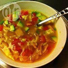 Caldo mexicano de pechuga de pollo @ allrecipes.com.mx