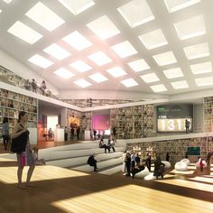 Danish firm ADEPT and Japanese architect Sou Fujimoto have won a competition to design a library for the Högskolan Dalarna university campus in Falun, Sweden.