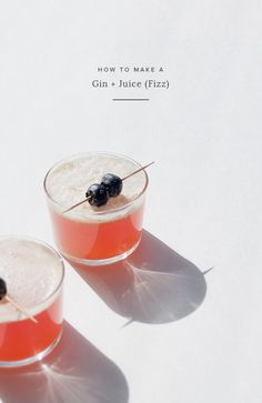 gin and juice fizz (