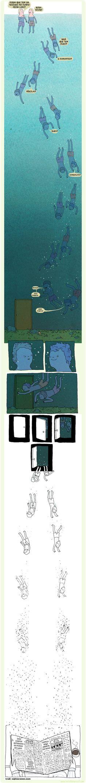 Não entrem na porta.
