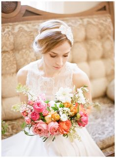 Soft & Light Bridal Portrait Inspiration | by Nadia Hung Photography | www.smitten-mag.com