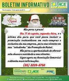 Folha do Sul - Blog do Paulão no ar desde 15/4/2012: BOLETIM ACE: UM SONHO DE NATAL