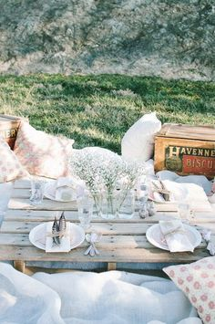 It's almost summer and time for picnics! Picnic weddings are a totally unique and fun way to celebrate your marriage, and they can take on so many different forms: from the formal...