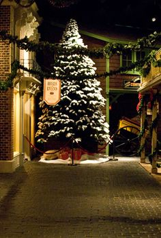 Old Town at the Royal BC Museum turns festive for Christmas. #christmas #museum #decoration #victoriaHOHOHO | http://www.tourismvictoria.com/christmas/