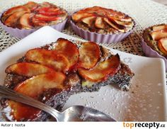 Makové koláčky bez mouky  s jablky