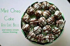 Mint Oreo Cookie Cake