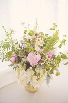 scenes from my wedding ... flower arrangements