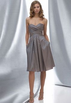 Wtoo 628 Slate Blue Size 10 In Stock Bridesmaid Dress