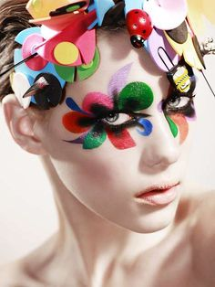 Clown makeup ideas for women1