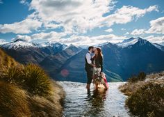 Photographer Bonnie Jenkins is in her element shooting New Zealand's rugged terrain, and this Wanaka wedding is no exception! Wanaka New Zealand, Queenstown New Zealand, New Zealand Wedding Venues, Destinations, Lake Wanaka, Places To Get Married, Real Beauty, Wedding Locations, Elopement Ideas