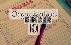 Mama's Got It Together: Organization Binder 101