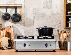 4000kcalの強火力。シンプルで堅牢な本体。料理の歓びを与えてくれる「Vamo.(バーモ)」は、インターネットだけの限定販売!
