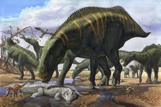 Shantungosaurus by ~atrox1 on deviantART