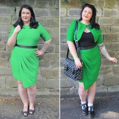 Plus Size Fashion | Throwing it back to last summer for #tbt and probably my favourite DIY of all time a twinset made with tons of wunderweb and patience from an old ASOS dress  I loved working on this piece for a guest post for @georginagrogan_ and it's a timely reminder that I really need to do more of these no-sew DIY's for @_shemightbe because I enjoy making them SO MUCH!