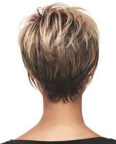 Kısa Saç Modeli Arkadan Görünüm