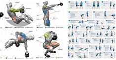 Kettlebell Training, Full Body Bodyweight Workout, Kettlebell Workout Routines, Kettlebell Workouts For Women, Kettlebell Benefits, Kettlebell Cardio, Biceps Workout, Gym Workouts, Kettlebell Challenge