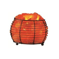 Missys Collectibles and Gifts - Himalayan Salt Round Basket Lamp, $33.60 (http://www.missyscollectibles.com/himalayan-salt-round-basket-lamp/)