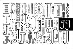 Handbook of Lettering for Stitchers | Flickr - Photo Sharing!