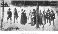 """When the puritans came to the New World, they brought with them their strict ways, their religious views and their distaste for Christmas. Although Christmas was widely celebrated in Europe as a Christian holiday marking the birth of Jesus Christ, puritans saw it as a false holiday with stronger ties to paganism than Christianity, and they were correct, according to the book The Battle for Christmas: """"It was only in the fourth century that the Church officially decided to observe Christmas…"""