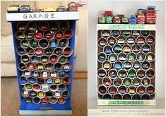 toy storage from paper rolls