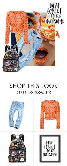 """""""Throw kindness around like confetti"""" by obsessedaboutstyle on Polyvore featuring Daizy Shely, Anya Hindmarch, Americanflat, awesome, StyleBlogger, weekendstyle and kind"""