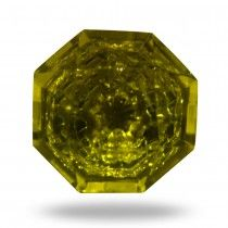 Kember Moss Green Glass Knob
