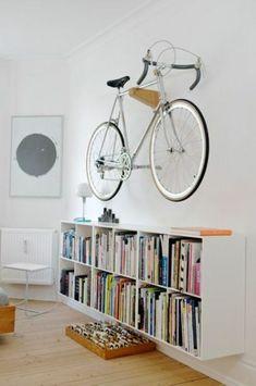 Bicycle Wall Mount And Other Bike Racks, You Surprise – Fresh Design Pedia Bike Storage Home, Bike Storage Apartment, Outdoor Bike Storage, Bike Storage Rack, Bike Rack, Bicycle Wall Mount, Bike Hanger Wall, Bike Storage Solutions, Storage Ideas