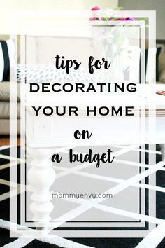 I am a frugal person and here are my tips for decorating you home on a budget. *** You can get additional details at the image link. #homedecorbudget