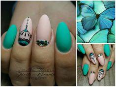 #greennails #nailart